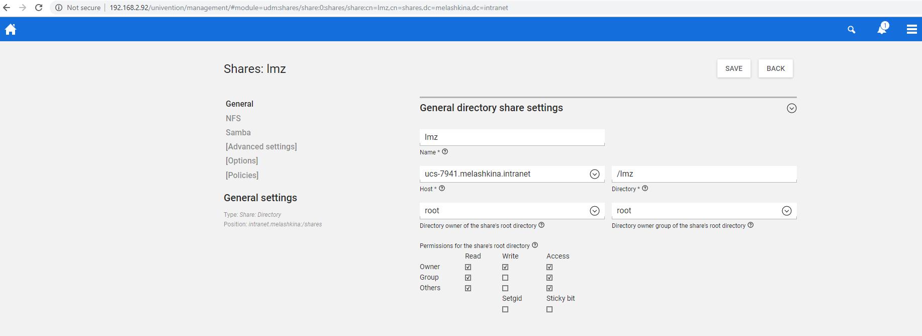 How to share samba folder with windows 10 host machine in hyper-v