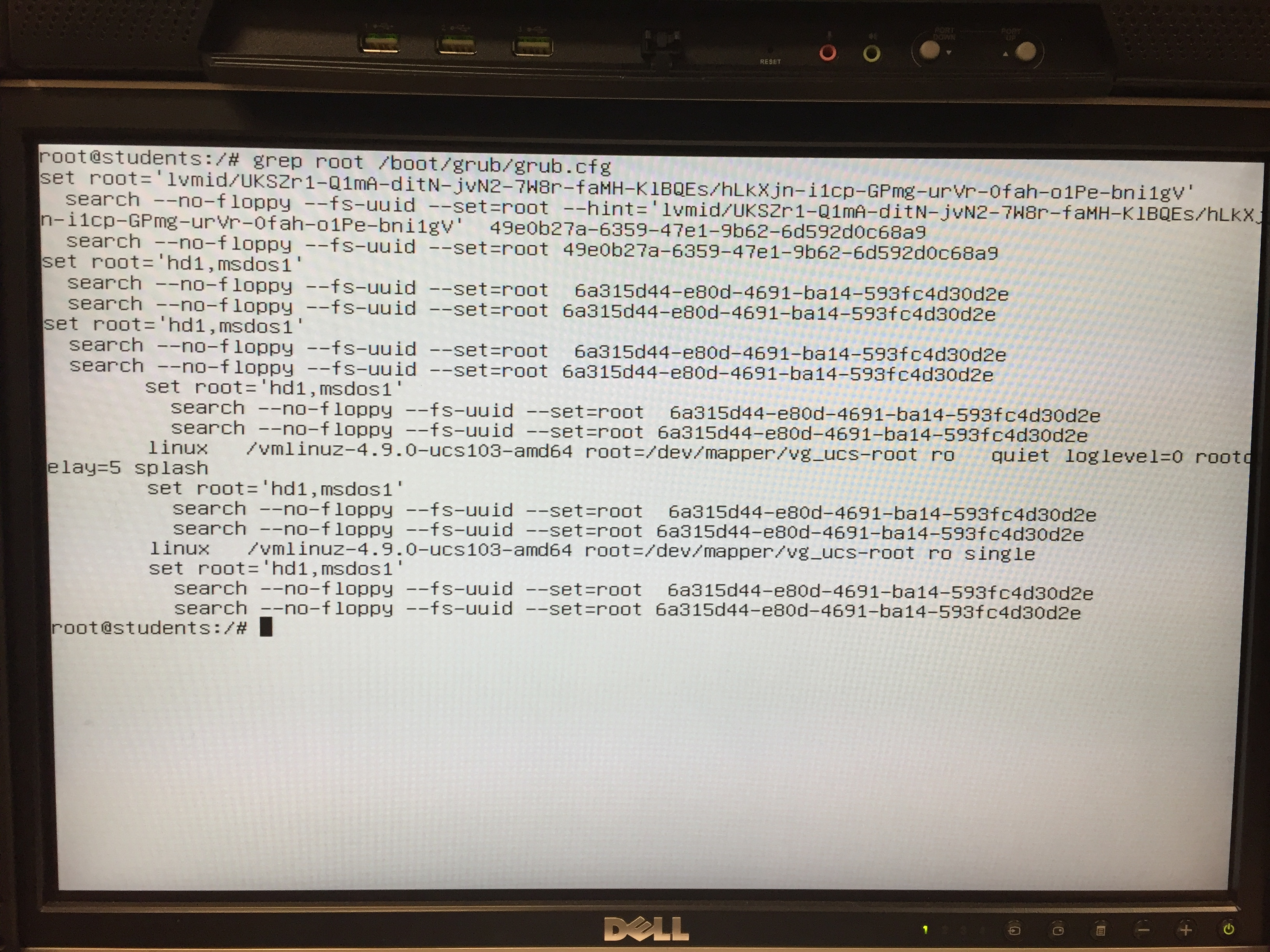 New UCS 4 2 install fails at GRUB - UCS - Univention Corporate