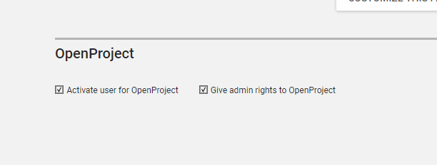 Can not login OpenProject - Apps & App Center - Univention Help