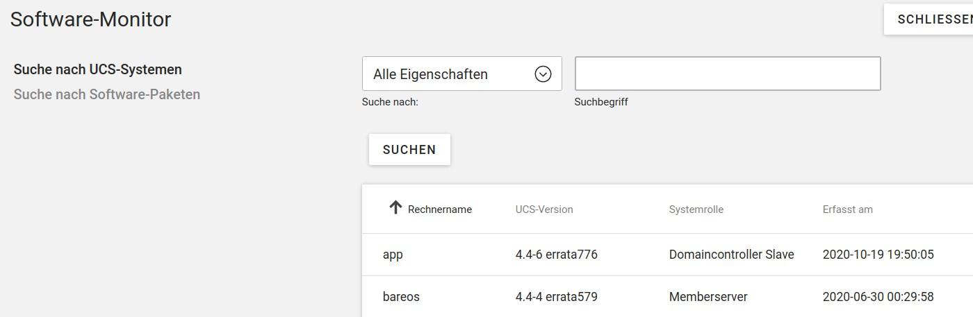 bareos-software-monitor