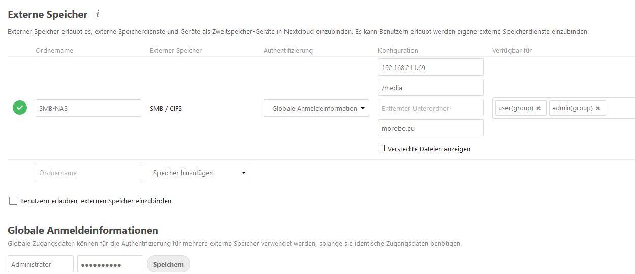 Nextcloud-externer-Speicher